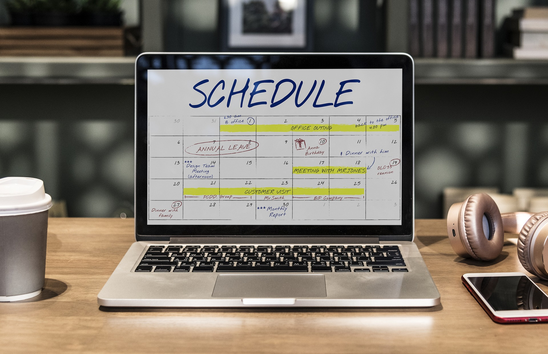 Let The Good Sheppard manage your schedule and save you time and money.
